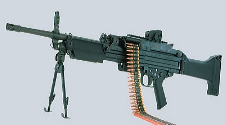 Heckler and Koch HK MG4 MG43 Machine Gun