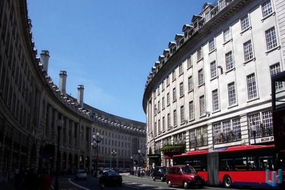Regent Street and Jermyn Street