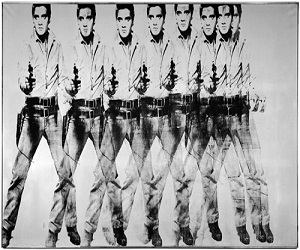 Eight Elvises (1963) By Andy Warhol