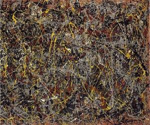 No.5 (1948), by Jackson Pollock