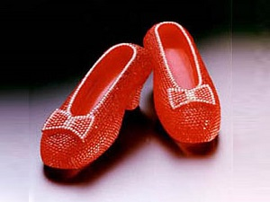 Harry Winston's Ruby Slippers