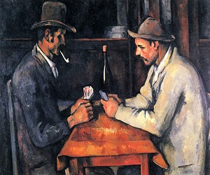 The Card Players (1892-93) By Paul Cezanne
