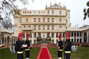 The Presidential Suite, The Raj Palace Hotel, Jaipur, India