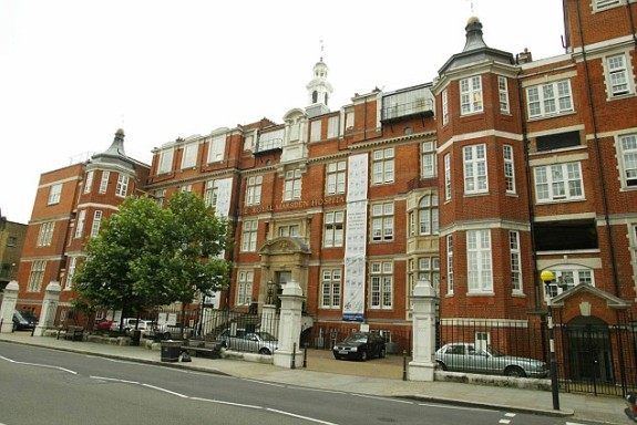 The Royal Marsden Hospital in London: England