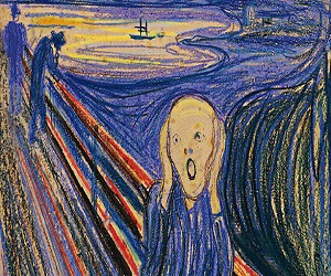 The Scream (1895) By Edvard Munch