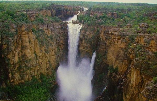 Jim Jim Falls in Australia