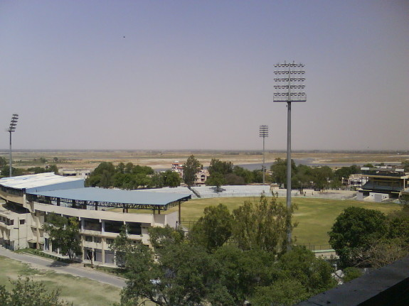 Roop Singh Stadium and Green Park Stadium