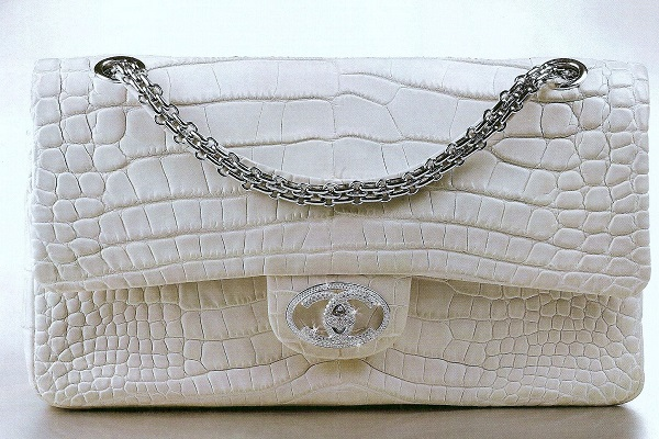 Chanel Classic Diamond Forever Handbag