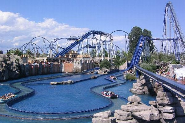 Europa Park in Rust, Germany