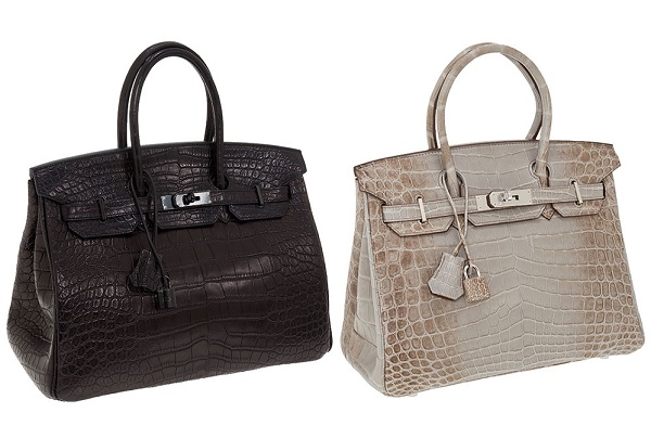 Hermes Black Crocodile Birkin Bag