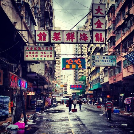 TungChoi-street-LadiesMarket-in-MongKok-after-the-typhoon-rain.-hongkong-hk-hkig