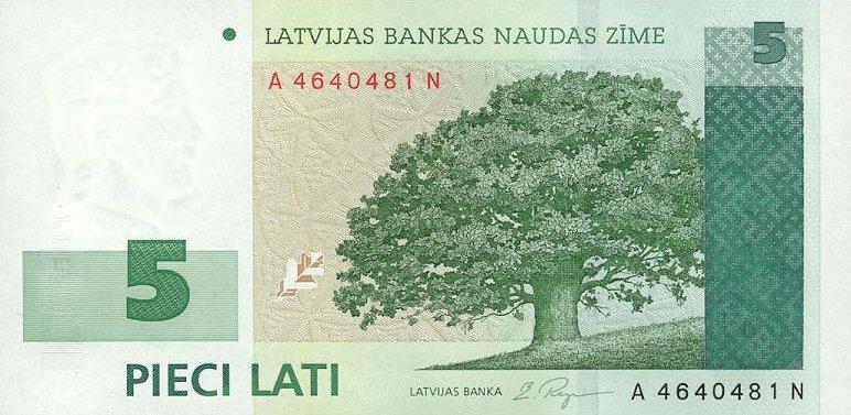Latvia Lats
