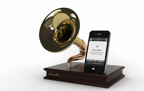The iPhone Gramaphone