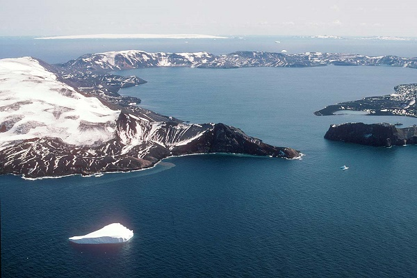 Deception Island, Antarctica