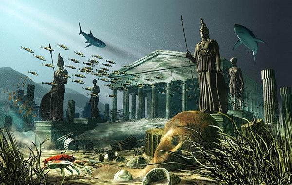 The lost island of Atlantis
