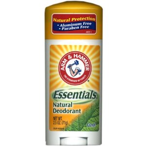 Arm and Hammer Essentials Natural Deodorant, Unscented