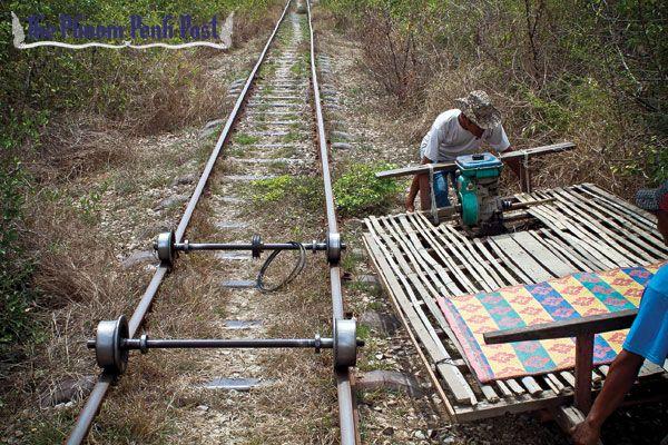 Bamboo Trains, Cambodia