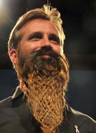 Beard braiding