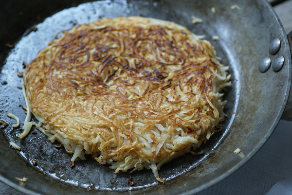Celery Root Hash Brown