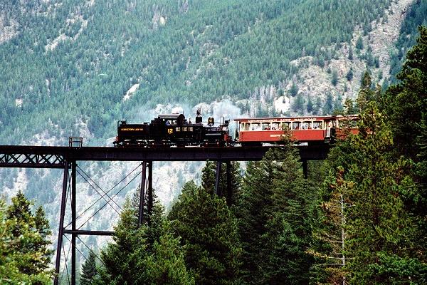 Georgetown Loop Railroad, Colorado, USA