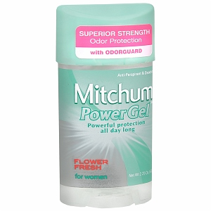 Mitchum Anti-Perspirant and Deodorant, Power Gel