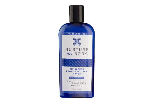 Nurture My Body Fragrance Free Organic Baby Shampoo and Body Wash