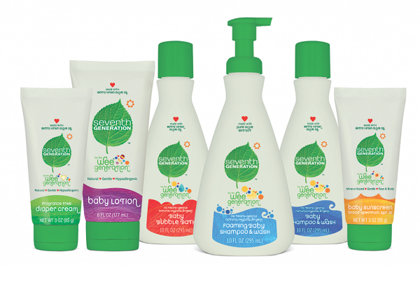 Seventh Generation Baby Lotion