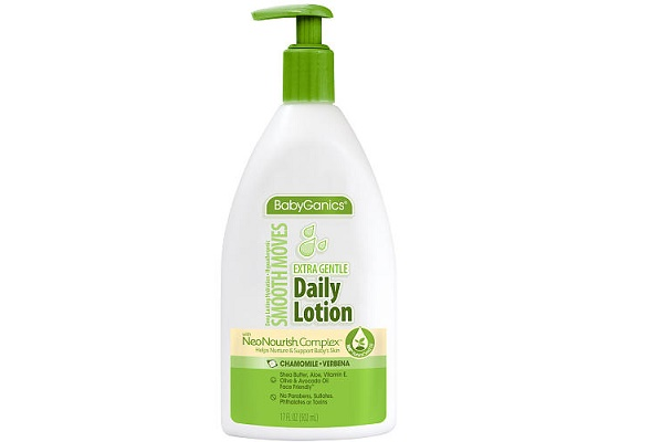 The BabyGanics Smooth Moves Lotion