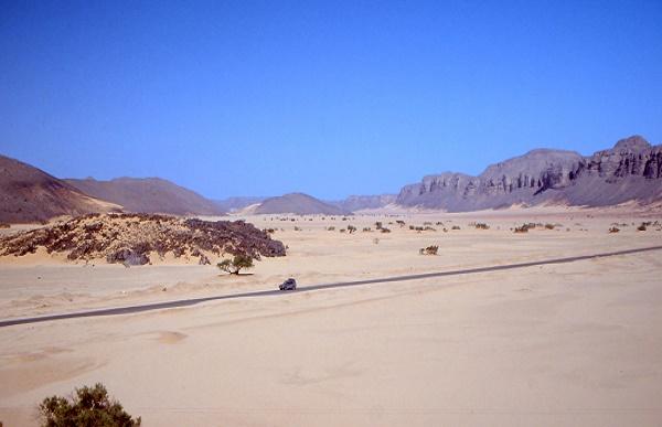 Trans-sahara Highway, Algiers, Algeria to Lagos, Naigeria