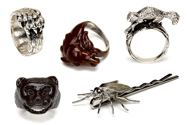 Animal jewellery design