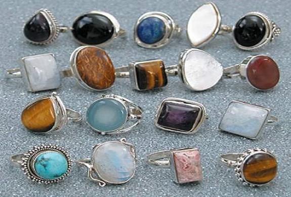 Stone rings