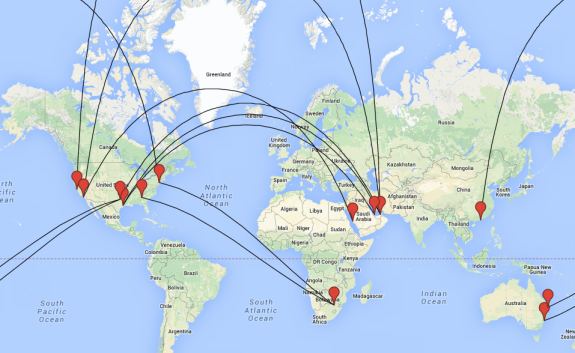Top 10 Longest Non-Stop Flight in the World