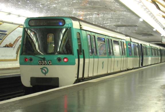 Blue Line Metro Paris
