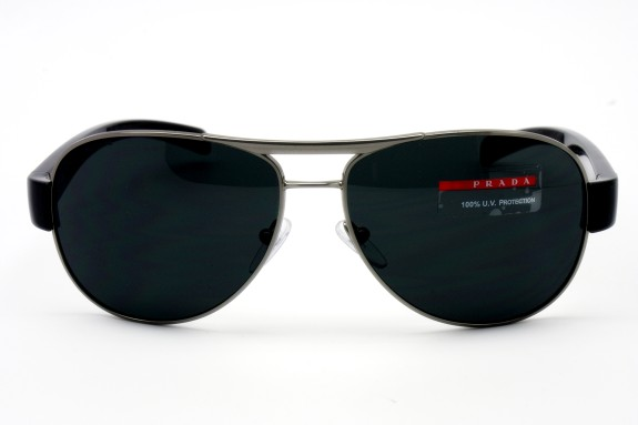 Prada 59mm Aviator Sunglasses