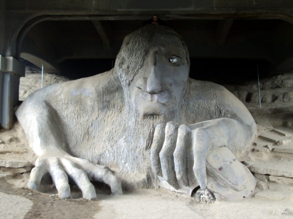 Bridge Troll, Seattle