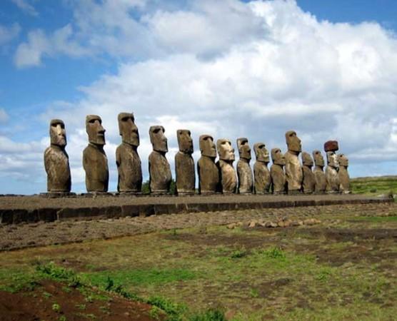 Easter Island Statues, Peru