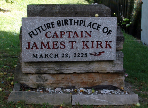 James T.Kirk's Future Birthplace, Riverside, Iowa