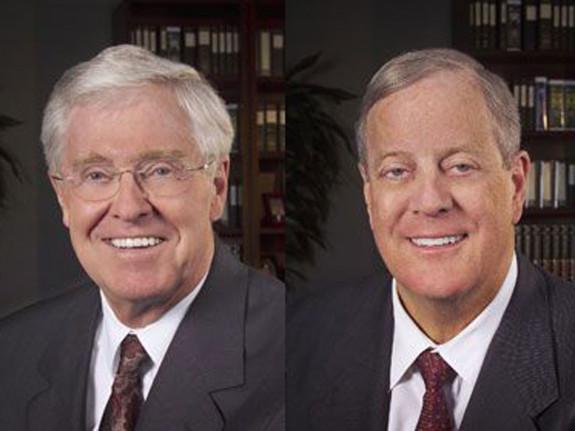 Charles Koch & David Koch